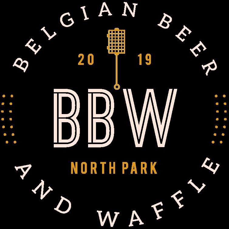 Belgian Beer and Waffle Logo